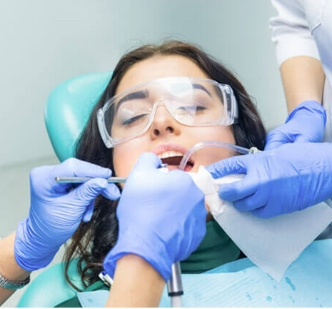 covid-19 dental appointment safety precautions in Brampton